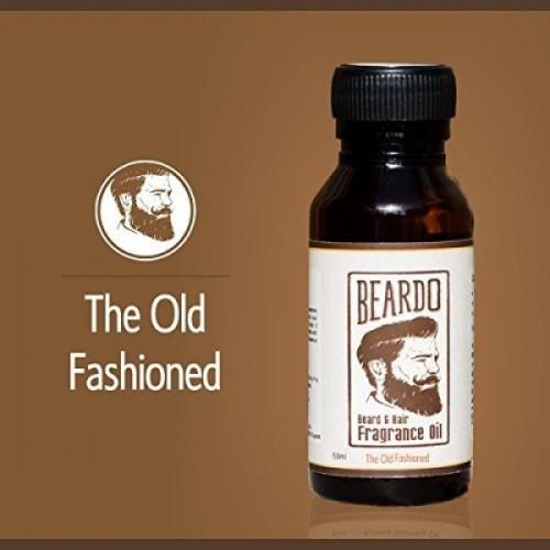 Beardo The Old Fashioned Beard Fragrance Hair Oil,30 ml