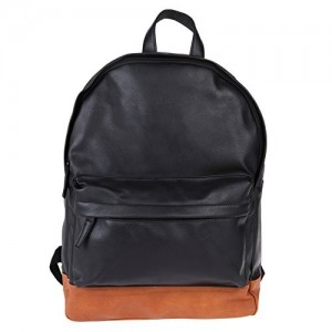 Buy C Comfort 18 inch Pure Brown Leather Backpacks Bag for men and ... 1076e70ccd8ee