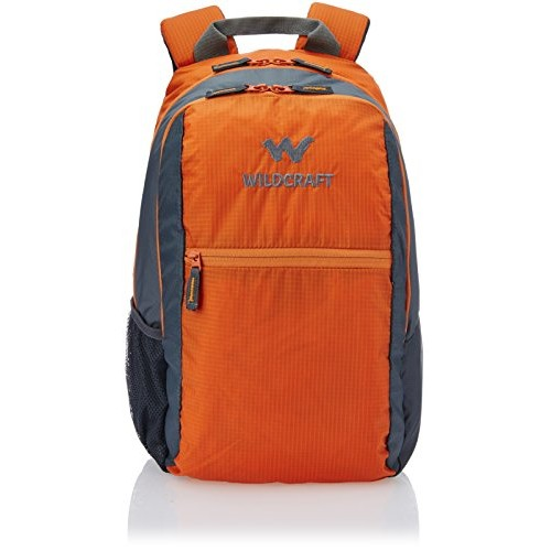 Wildcraft 28 Ltrs Orange Casual Backpack (8903338045236)