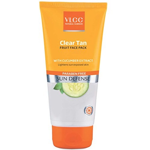 VLCC Clear Tan Fruits Face Pack, 100g