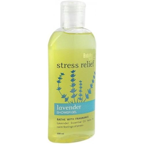 BodyHerbals Stress Relief, Lavender Shower Gel (200ml)