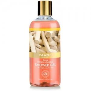 Vaadi Herbals Divine Honey & Sandal Shower Gel (300 ml)