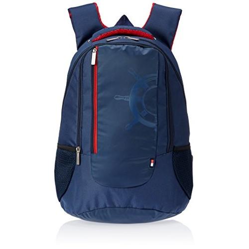 Tommy Hilfiger Navy Casual Backpack (TH/BIK08NAU)