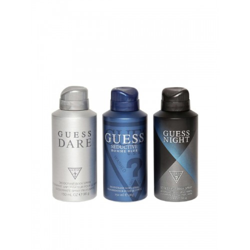 GUESS Deodorant Body Sprays- Pack of 3
