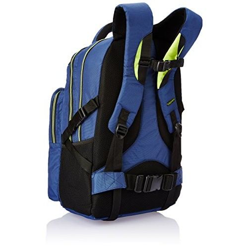 Gear 27 ltr Navy Blue and Green Casual Backpack (TLP00CRGO0503)