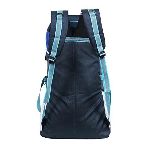 POLE STAR Blue & Grey Unise Polyester Rucksacks
