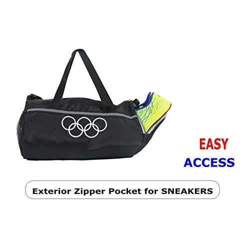 4722f4e84ae ... Pole Star 950 Cms Soft Polyester Travel Duffel, Gym Bag- Black ...