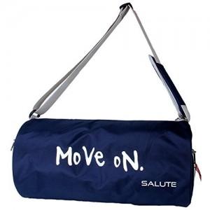 Salutenavy Blue Polyester 850Cms Softsided Duffle Bag