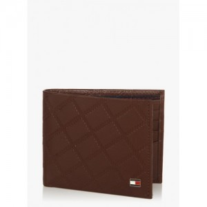 Tommy Hilfiger Tinkers Cognac Leather Card Holder Wallet