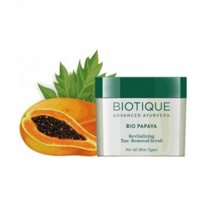 Biotique Bio Papaya Revitalising Tan-Removal Scrub 75 g