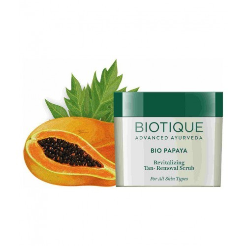 Biotique Bio Papaya Revitalising Tan-Removal Scrub 75 g