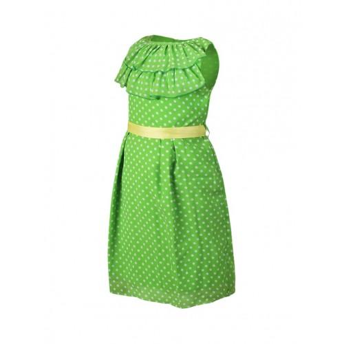 Queen Anee's Green Georgette Frock