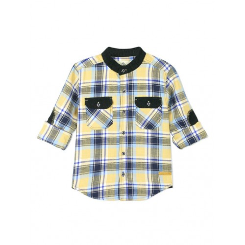 Multi Cotton Shirt By Cherry Crumble