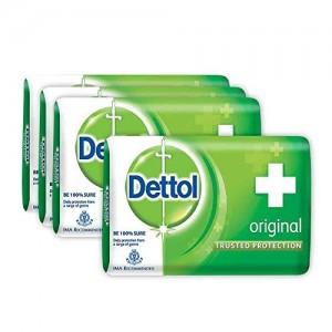 Dettol Original Soap,BUY 3 GET 1 FREE Dettol Original Soap