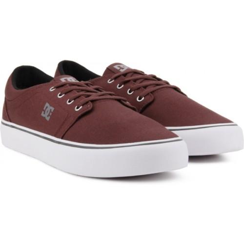 DC TRASE TX Burgundy Sneakers