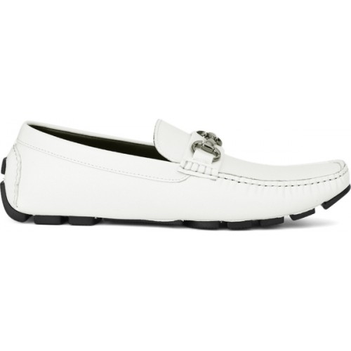 Kenneth Cole Solid White Slip-on Loafer