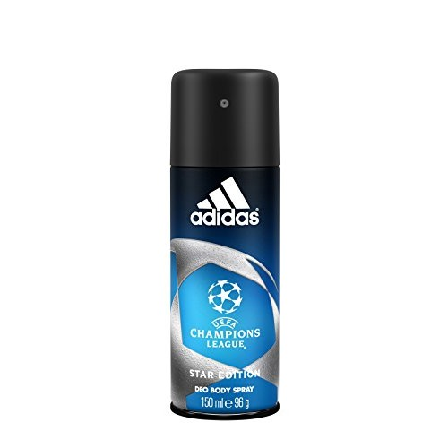 Adidas UEFA Champions League Deodorant Body Spray for Men, 150ml