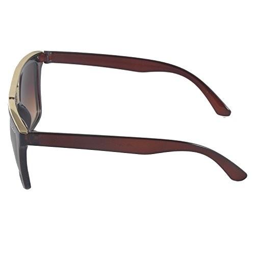 MaFs Gradient Classic Semi-Rimelss Wayfarer Sunglasses