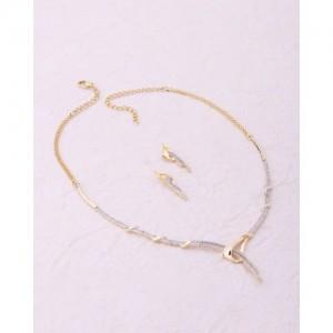 Voylla Elegant Nakshatra Gold Plated Necklace Set