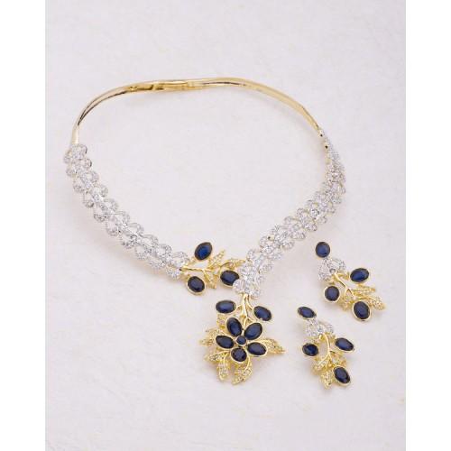 Voylla Beautiful Floral Design Necklace Set