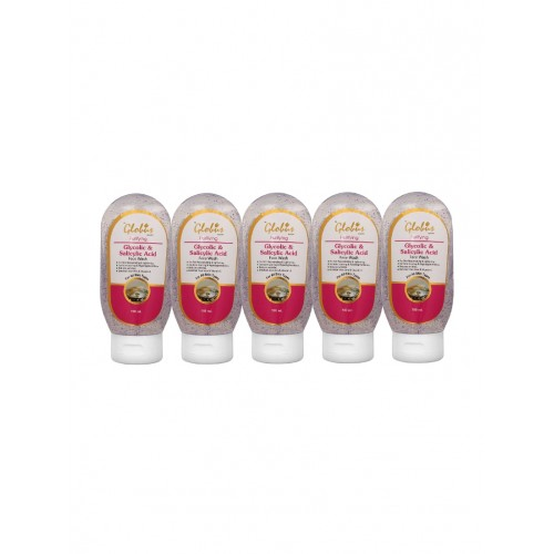 Globus Glycolic Acid and Salicylic Acid Face Wash Pack of 5