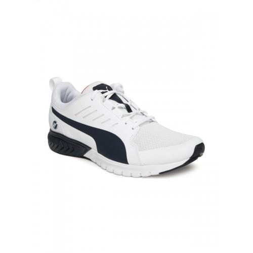 Buy Puma Unisex White BMW MS Pitlane Shorts shoes online  e38fe02a3