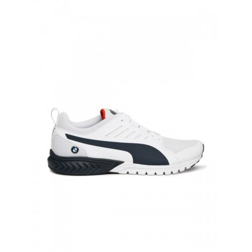 d5d7fd1e396 Buy Puma Unisex White BMW MS Pitlane Shorts shoes online