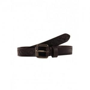 Aditi Wasan Dark brown slit cut designed ladies belt