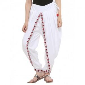 KAANCHIE NANGGIA white cotton dhoti salwar