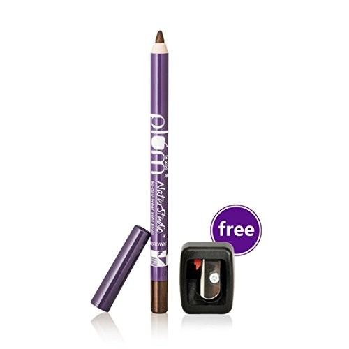 Plum Nature studio All Day Wear Kohl Kajal, Uptown Brown 1.2g, with Free Sharpener