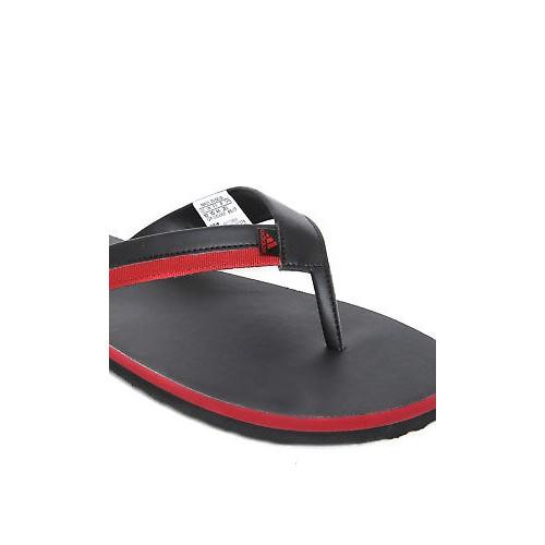 Adidas Men Black & Red Brizo 3.0 Flip-Flops