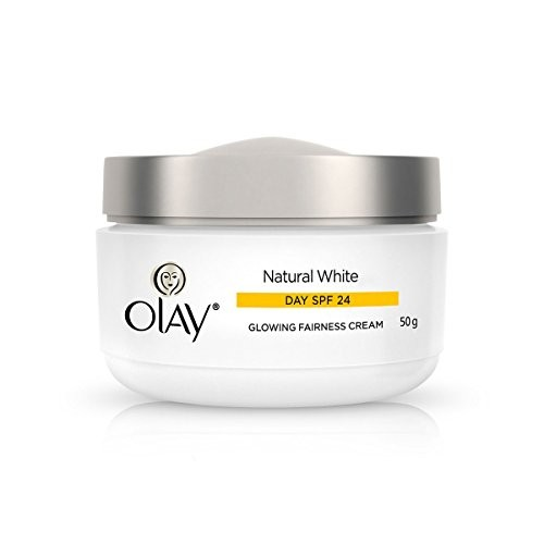 Olay Natural White Glowing Fairness cream Day SPF 24, 50gm