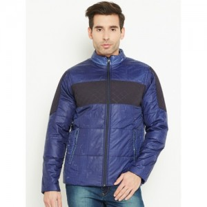 466280efa8c5 Buy Tom Tailor Men Navy Blue Solid Quilted Jacket online   Looksgud.in