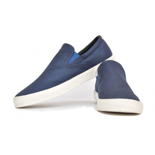 c035b54cfa01 Buy Cubebro Navy Blue Canvas Shoes online | Looksgud.in