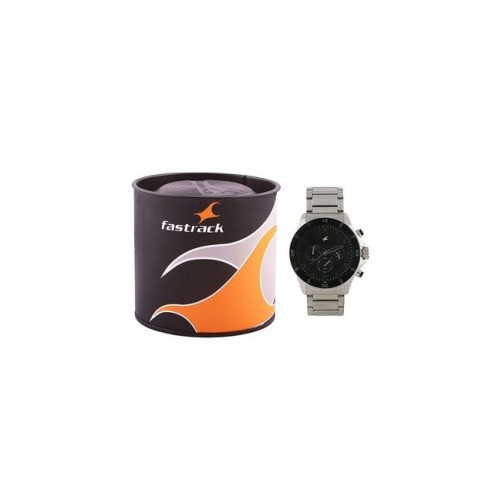 Fastrack NK3072SM01 Big Time Analog Watch for Men