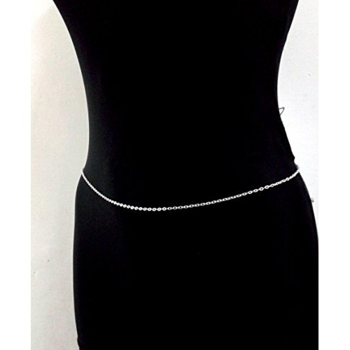 Town Of Trinkets silver Bikini Belly Body Waist Link Chain