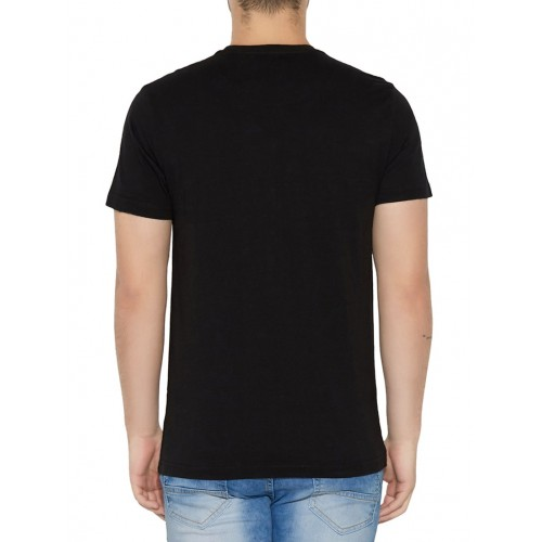 Globus black cotton t-shirt