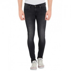 Globus grey cotton plain jeans
