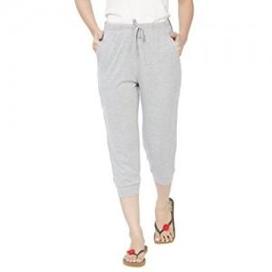 Clifton Women's Comfort Capri - Grey Melange - XXX-Large