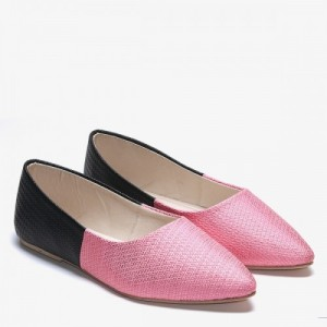 TEN Pink Synthetic Leather Bellies