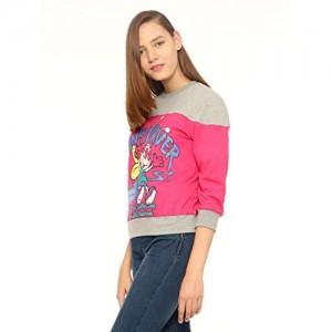 Vvoguish Women's Regular Fit Cotton Sweatshirt