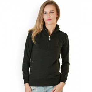 Belle Fille Black Hooded Sweatshirt