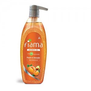 Fiama Mild Dew Shower Gel, Peach and Avocado, 500ml