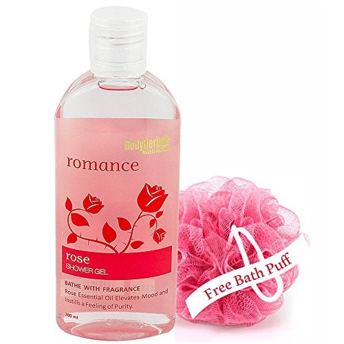BodyHerbals Romance, Rose Shower Gel With Skin Conditioners (200ml) Beauty, Bath & Shower, Soaps, Body Washes, Body Wash Gels