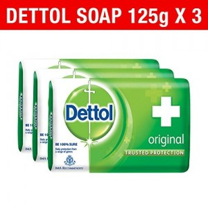 Dettol Soap Value Pack, Original - (3 Pieces X 125 g)