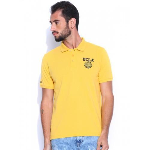e4fec7406 Buy UCLA Yellow Polo T-shirt online   Looksgud.in