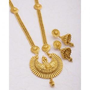 Voylla Ethnic Chandbali Necklace Set