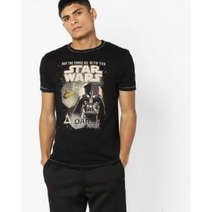 Jack & Jones Star Wars Print Crew-Neck T-shirt