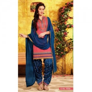 MAHATI soft silk embroidered salwar suit