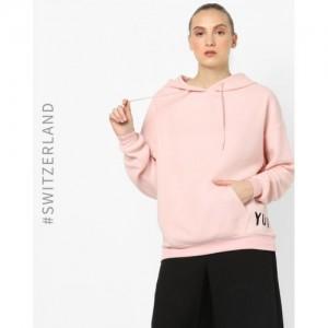 TALLY WEiJL Hooded Sweatshirt with Kangaroo Pocket